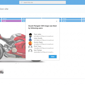 SharePoint Online Picture Gallery web part